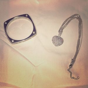 Bracelet and necklace duo